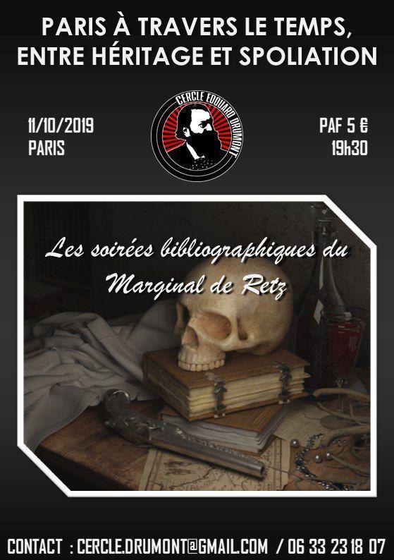 Paris à travers le temps, entre héritage et spoliation -cercle-edouard-drumont